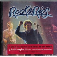 CDs de Música: MIGUEL RIOS-CD DOBLE-ROCK & RIOS. Lote 122701227