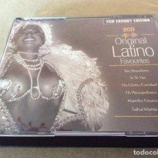 CDs de Música: ORIGINAL LATINO FAVOURITES. 2CD. LUXURY EDITION.. Lote 122744151