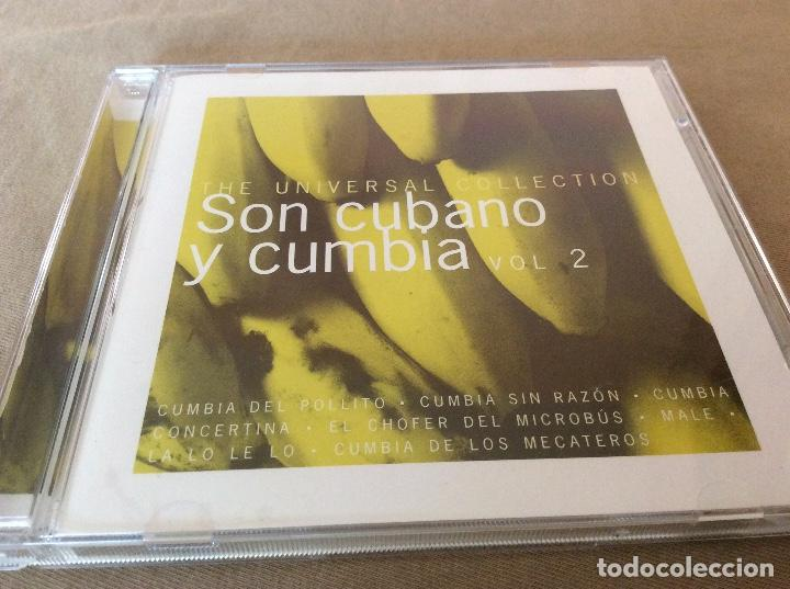 SON CUBANO Y CUMBIA VOL. 2. UNIVERSAL COLLECTION 2000. (Música - CD's Latina)