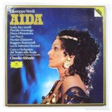 CDs de Música: GIUSEPPE VERDI - AIDA - CLAUDIO ABBADO. Lote 122792627