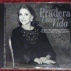 CDs de Música: MARIA DOLORES PRADERA (TODA UNA VIDA) CD 1994. Lote 182522776