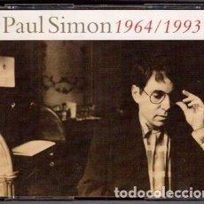 CDs de Música: PAUL SIMON – PAUL SIMON 1964/1993 (ED.: EU, 1993) [3 × CD, COMPILATION]. Lote 122832719