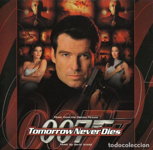 DAVID ARNOLD ?– TOMORROW NEVER DIES (MUSIC FROM THE MOTION PICTURE) ]ED.:EU, 1997] (Música - CD's Bandas Sonoras)