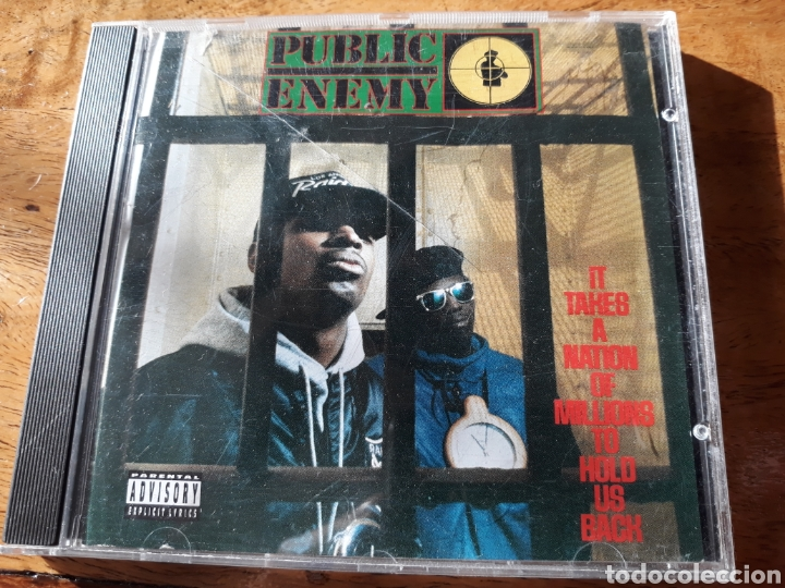 PUBLIC ENEMY IT TAKES A NATION OF MILLIONS TO HOLD US BACK (Música - CD's Hip hop)