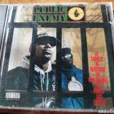 CDs de Música: PUBLIC ENEMY IT TAKES A NATION OF MILLIONS TO HOLD US BACK. Lote 122908618