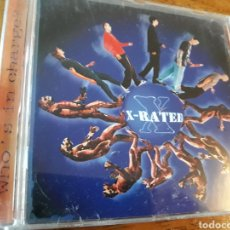 CDs de Música: X RATED WHO IS IN CHARGE. Lote 122913954
