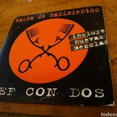 CDs de Música: BASTA DE NACIMIENTOS INCLUYE NUEVAS MEZCLAS DEF CON DOS DCD. Lote 122919695