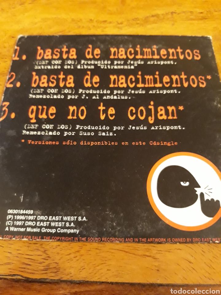 CDs de Música: Basta de nacimientos incluye nuevas mezclas Def Con Dos DCD - Foto 2 - 122919695