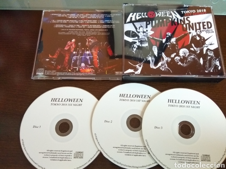 HELLOWEEN BOX UNITED (Música - CD's Heavy Metal)