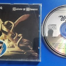 CDs de Música: WHITESNAKE - SAINTS AND SINNERS CD. Lote 122978215