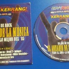 CDs de Música: HEAVY ROCK KERRANG EL ANUARIO DE LA MÚSICA 2004 SOBER, EDGUY, SARATOGA, DORO, ETC.. Lote 122981196