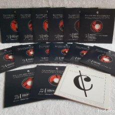 CDs de Música: ELS CONCERTS DELS DIUMENGES ( COLECCIÓN COMPLETA DE 14 CD'S ). Lote 123024171