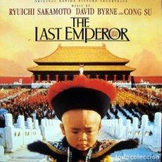 CDs de Música: THE LAST EMPEROR / RYUICHI SAKAMOTO CD BSO. Lote 123041455