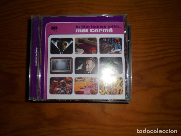 IN THE LOUNGE WITH...MEL TORMÉ. COLUMBIA 2001. CD. IMPECABLE (Música - CD's Jazz, Blues, Soul y Gospel)