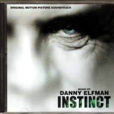 CDs de Música: INSTINCT / DANNY ELFMAN CD BSO. Lote 40150905