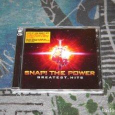 CDs de Música: SNAP! THE POWER - GREATEST HITS - INCLUDE BONUS CD CON REMIXES - 2 CD'S - HITS + REMIXES - H2BCD17. Lote 119490183