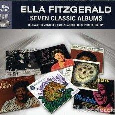 CDs de Música: ELLA FITZGERALD - SEVEN CLASSIC ALBUMS REMASTERIZADOS. Lote 123083427
