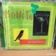 CDs de Música: MOHITO LA RAITANA BANDA DE GAITES CD ALBUM ASTURIAS PEPETO. Lote 123122371