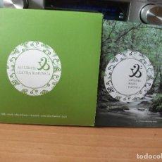 CDs de Música: ASTURIAS / LLETRA & MUSICA FOLK , ROCK , ELECTRONICA , TONADA , CD+ LIBRETO POESIA PEPETO. Lote 123124915
