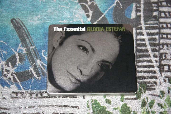 GLORIA ESTEFAN - THE ESSENTIAL - 2 CD'S - TIN BOX LIMITED EDITION - CAJA METÁLICA - 88697536822 (Música - CD's Latina)