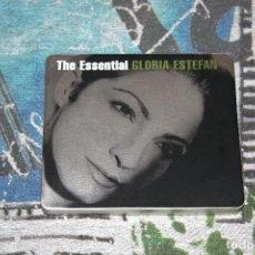 CDs de Música: GLORIA ESTEFAN - THE ESSENTIAL - 2 CD'S - TIN BOX LIMITED EDITION - CAJA METÁLICA - 88697536822. Lote 123161611