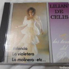 CDs de Música: LILIAN DE CELIS CD LAS TARDES DEL RITZ 1991 DIAL VALENCIA VIOLETERA LA MOLINERA COMO NUEVO + 5 €. Lote 123279403