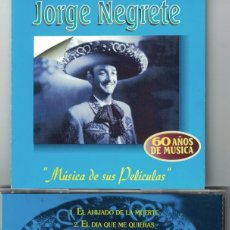 CDs de Musique: JORGE NEGRETE - MUSICA DE SUS PELICULAS (CD, ORFEON 1998). Lote 123311827