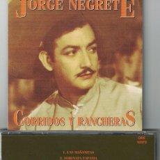 CDs de Musique: JORGE NEGRETE - CORRIDOS Y RANCHERAS (CD, ORFEON 1994). Lote 123311919