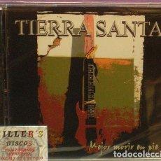 CDs de Música: TIERRA SANTA - MEJOR MORIR EN PIE - CD PRECINTADO - LOCOMOTIVE. Lote 123317395