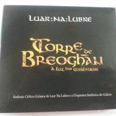 CDs de Música: LUAR NA LUBRE-TORRE DE BREOGAN-2 CDS Y DVD-DEDICADO Y FIRMADO POR EL GRUPO-N. Lote 123325287