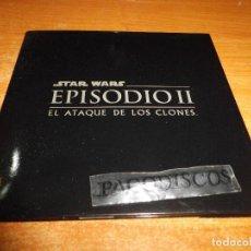 CDs de Música: STAR WARS EPISODIO II EL ATAQUE DE LOS CLONES CD PROMO ESPAÑA MUY RARO CD MULTIMEDIA RARO. Lote 123383067
