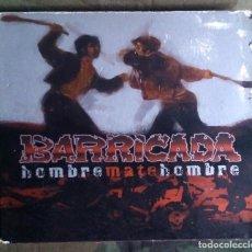 CDs de Música: BARRICADA – HOMBRE MATE HOMBRE CD DIGIPACK + DVD 2004 . Lote 123414863