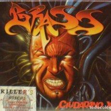 CDs de Música: GRASS - CIUDADANO X - CD PRECINTADO - LOCOMOTIVE. Lote 277690793