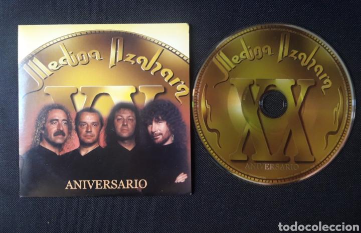 MEDINA AZAHARA PROMO CD SINGLE: ANIVERSARIO / CAMPEONES (Música - CD's Heavy Metal)