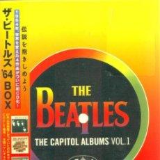 CDs de Música: THE BEATLES * BOX SET THE CAPITOL ALBUMS VOL 1 * JAPAN EDITION * CAJA PRECINTADA!!. Lote 143153625