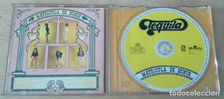 CDs de Música: Matrícula De Honor (Zafiro / 1978) Tequila / CD / BMG España 1999 - Foto 2 - 123455651
