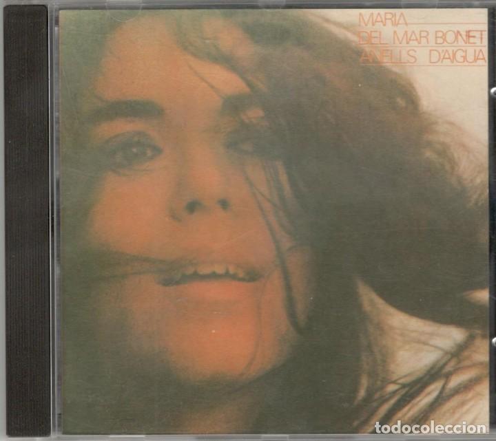 MARIA DEL MAR BONET CD ANELLS D'AIGUA 1987 ARIOLA (Música - CD's Otros Estilos)