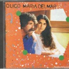 CDs de Música: MARIA DEL MAR BONET CD MARIA DEL MAR QUICO PI DE LA SERRA 1996 ARIOLA. Lote 123511431