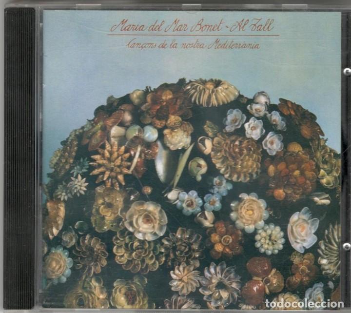 MARIA DEL MAR BONET AL TALL CD CANÇONS DE LA NOSTRA MEDITERRÀNIA 1996 ARIOLA (Música - CD's Otros Estilos)