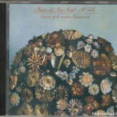 CDs de Música: MARIA DEL MAR BONET AL TALL CD CANÇONS DE LA NOSTRA MEDITERRÀNIA 1996 ARIOLA. Lote 123512959