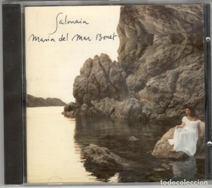 MARIA DEL MAR BONET CD SALMAIA 1995 ARIOLA (Música - CD's Otros Estilos)