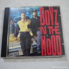 CDs de Música: BSO BOYZ IN THE HOOD - LOS CHICOS DEL BARRIO - CD 1991 . Lote 123520211