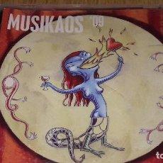 CDs de Música: MUSIKAOS '09 / CD - 14 TEMAS / CALIDAD LUJO.. Lote 123521595