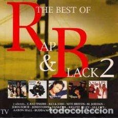 CDs de Música: VARIOUS - THE BEST OF RAP & BLACK 2 (2XCD, COMP) LABEL:BOY RECORDS (4) CAT#: BOY CD 063 . Lote 123531807