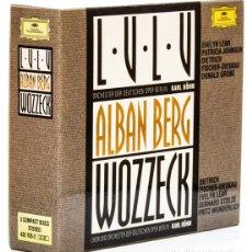 CD di Musica: BERG, ALBAN: WOZZECK; LULU (3 CDS) (DEUSTCHE GRAMMOPHON) (CB). Lote 123534791