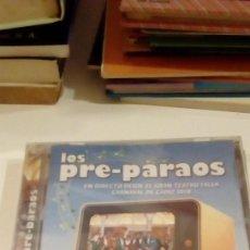 CDs de Música: CAJ-9K304A CD CARNAVAL DE CADIZ LOS PRE-PARAOS FALLA CHIRIGOTA DE LOS MORANCOS NUEVO PRECINTADO. Lote 123552119