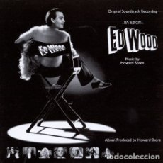 CDs de Música: ED WOOD / HOWARD SHORE CD BSO. Lote 218251228