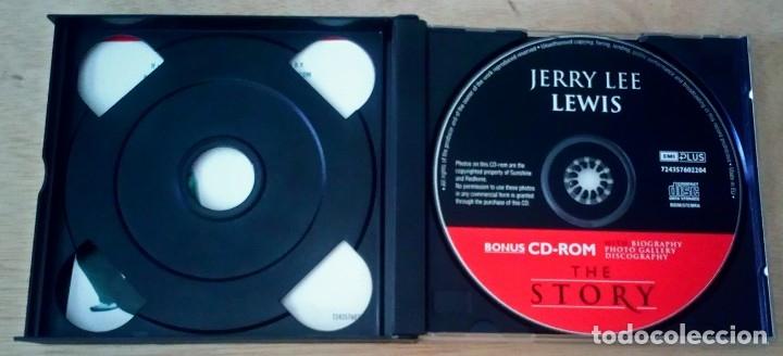 CDs de Música: The Story / Jerry Lee Lewis / CD + CD - ROM / EMI 2000 - Foto 3 - 123555295
