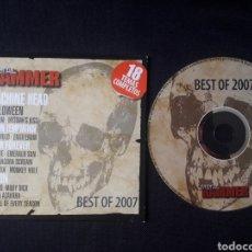 CDs de Música: METAL HAMMER BEST OF 2007 CD MACHINE HEAD SAXON MEDINA AZAHARA ETC. Lote 123574287