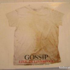CDs de Música: GOSSIP – LIVE IN LIVERPOOL - COLUMBIA 2008 - CD + DVD - P. Lote 123590851